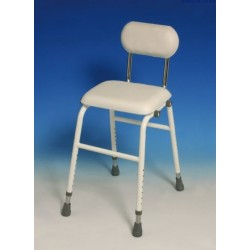 Perching Stool with backrest