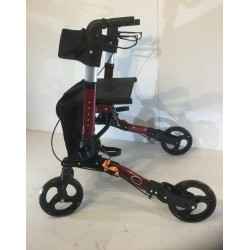 4 Wheel Bi-Fold Aluminium Walker