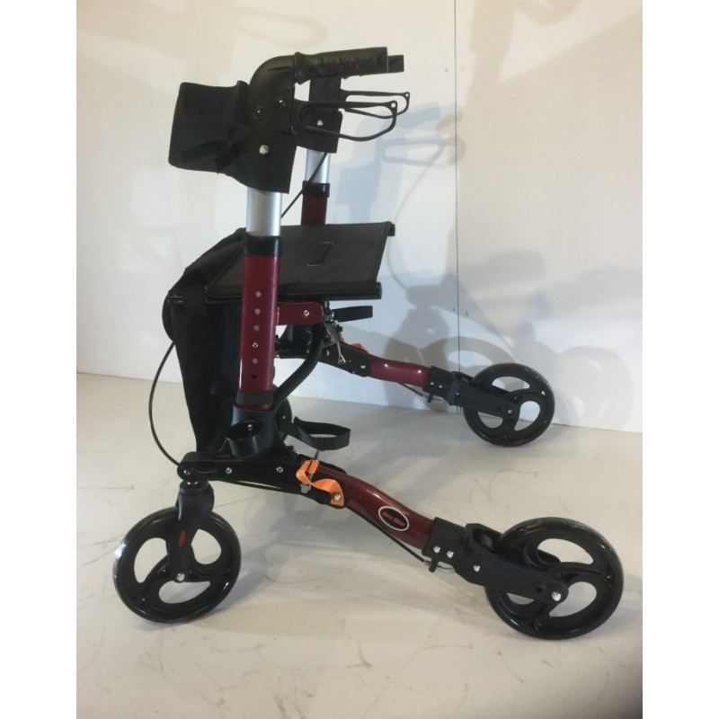 4 Wheel Bi-Fold Aluminium Walker