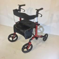 Surerider 4 Wheel Deluxe Aluminium Walker