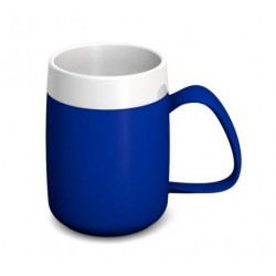 Ornamin One Handled Mug with Internal Cone 140ML in Blue