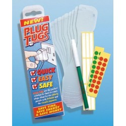 Plug Tugs Pack of ten