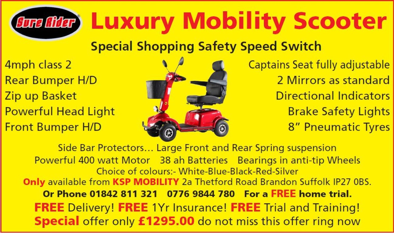 KSP Mobility Advert