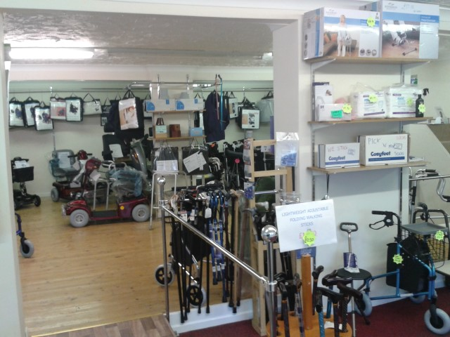Products at KSP Mobility Brandon Suffolk